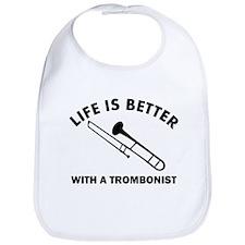 Trombonist designs Bib