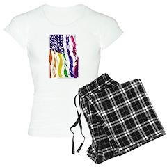 American Flag Color Pajamas