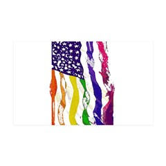 American Flag Color Wall Decal