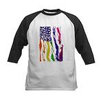 American Flag Color Baseball Jersey