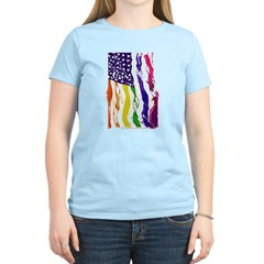 American Flag Color T-Shirt