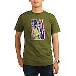 American Flag Color T-Shirt