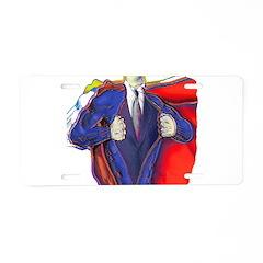 Super Man, Dad Aluminum License Plate
