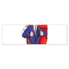 Super Man, Dad Bumper Bumper Sticker