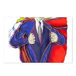 Super Man, Dad Postcards (Package of 8)