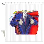 Super Man, Dad Shower Curtain