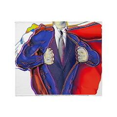 Super Man, Dad Throw Blanket