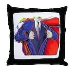Super Man, Dad Throw Pillow