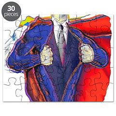 Super Man, Dad Puzzle