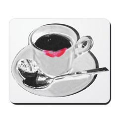 Coffee Lipstick Mousepad