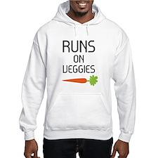 Runs on Veggies Hoodie