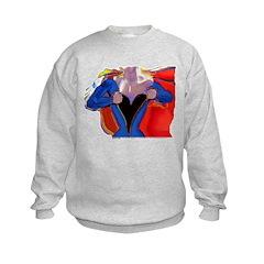 Super Woman, Mom Sweatshirt