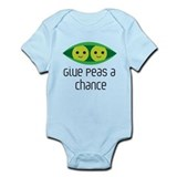 Give peas a chance Bodysuits