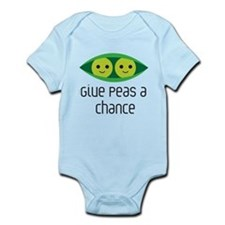 give peas a chance Body Suit