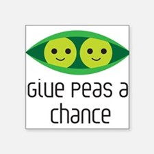 give peas a chance Sticker