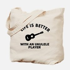 Ukulele designs Tote Bag