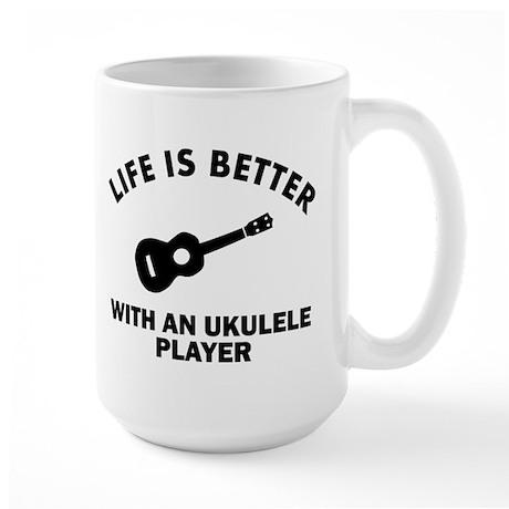 Ukulele designs Large Mug