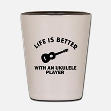 Ukulele designs Shot Glass
