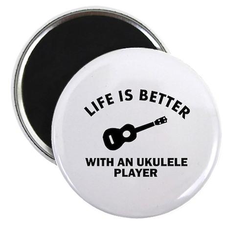 """Ukulele designs 2.25"""" Magnet (100 pack)"""