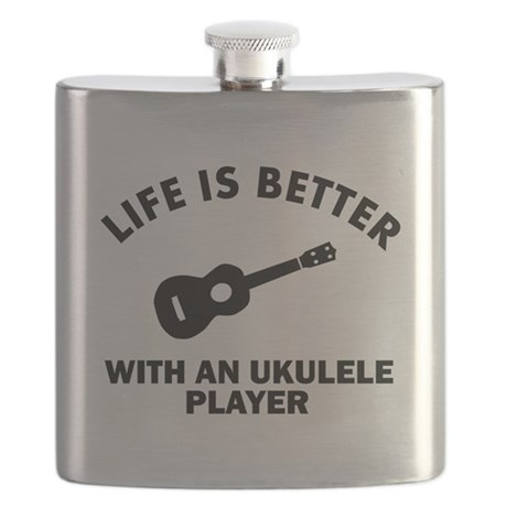 Ukulele designs Flask