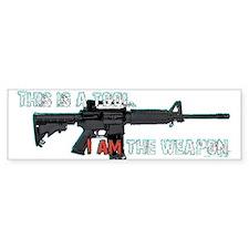Assault Rifle is a Tool Bumper Bumper Sticker