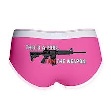 Assault Rifle is a Tool Women's Boy Brief