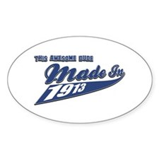 Made in 1913 Decal