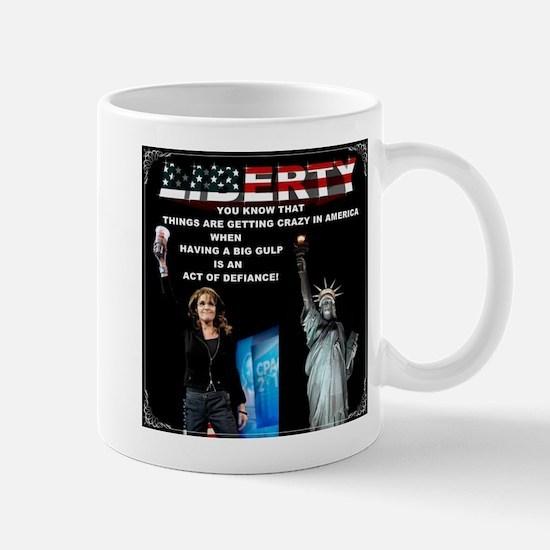 American Big Gulp Liberty Mug