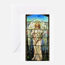 Angel in Pink Greeting Card