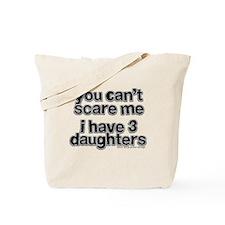 Parent of 3 Girls Tote Bag