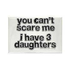 Parent of 3 Girls Rectangle Magnet