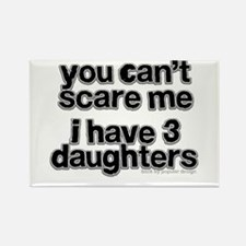 Parent of 3 Girls Rectangle Magnet