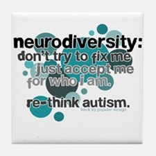 Neurodiversity Tile Coaster