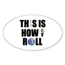 How I Roll Bowling Decal