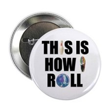 "How I Roll Bowling 2.25"" Button"