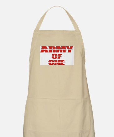 army of one Apron