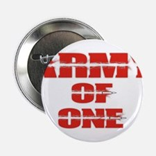 """army of one 2.25"""" Button"""