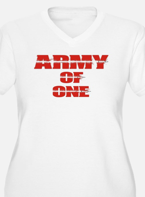 army of one Plus Size T-Shirt