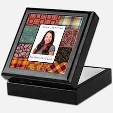 Personalized Scrapbook-Like Keepsake Box