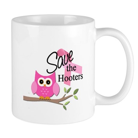 R637 Save The Hooters Mug