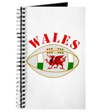 Wales style rugby ball Journal