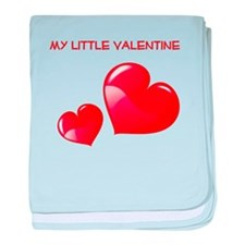 my little valentine baby blanket