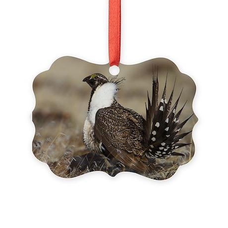 Sage Grouse Strut Ornament