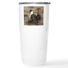 Sage Grouse Strut Travel Mug