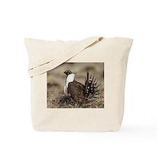 Sage Grouse Strut Tote Bag