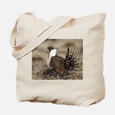 Sage Grouse Strut Tote Bag
