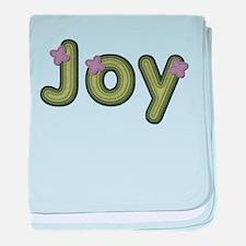 Joy Spring Green baby blanket