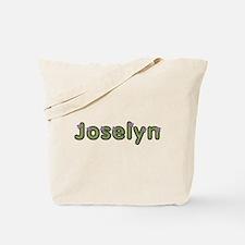 Joselyn Spring Green Tote Bag