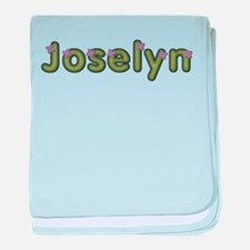 Joselyn Spring Green baby blanket