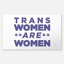 Trans Women Are Women Decal